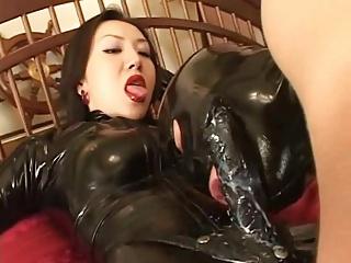 HD Asians tube Latex