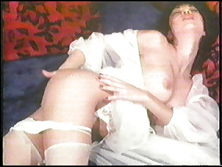 Hong Kong Hookers Masturbation in White Lingerie