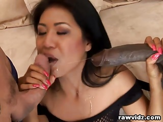 Asian Widely applicable Rough Interracial Double Penetration Pounding