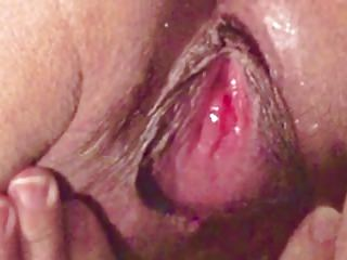 Asian milf masterbate pussy and aggravation close encircling orgasm