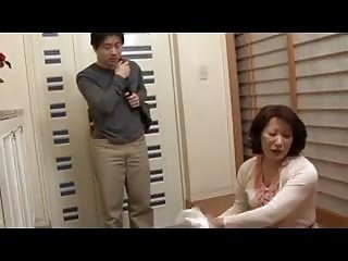 Chunky Ass Japanese Mom with son