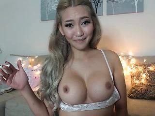 Horny asian babe fro big boobs