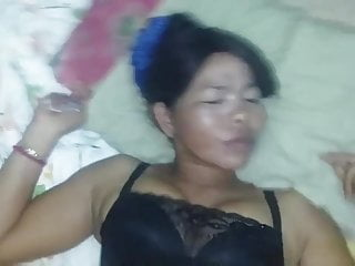 Asian old lady pussy fucking