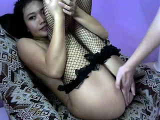 Chinese cumshot down superb asian ass