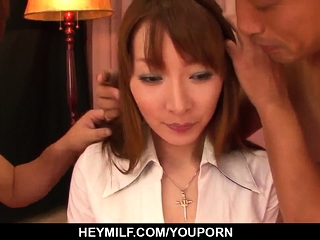 Kou Minefuji deals the load of shit in - More at Japanesemamas.com