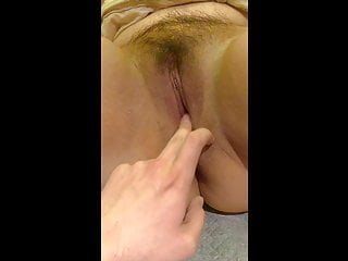 Fuck Chubby Asian Tight Pussy connected with Finger added to Dildo