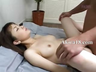 korean guy licking super hairy cunt