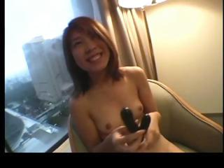 Cute asian redhead getting her pussy part5